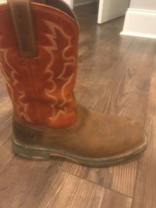picture of Ariat, workhog cowboy boots,
