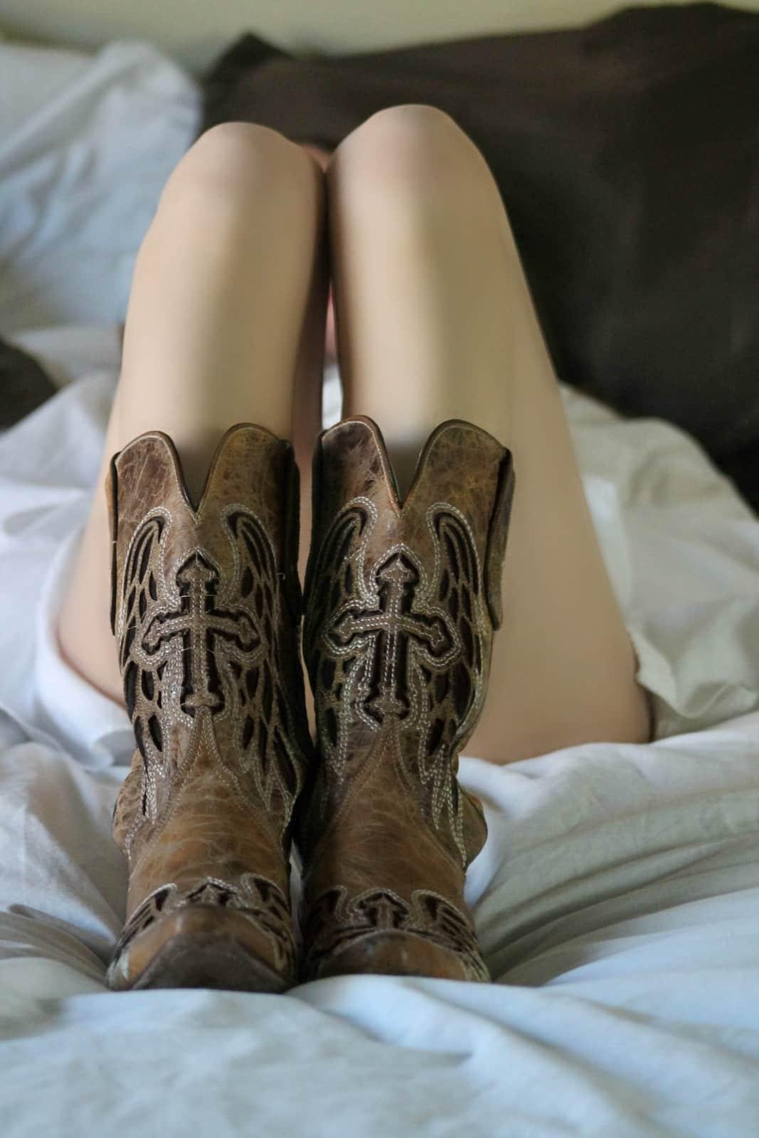 Women's Cowboy Boots, Under $50