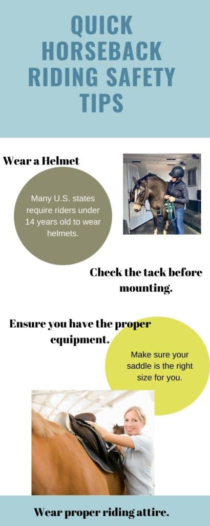 picture of an infographic with safety tips,