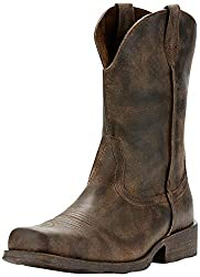 Best Cowboy Boots for Guys With Big