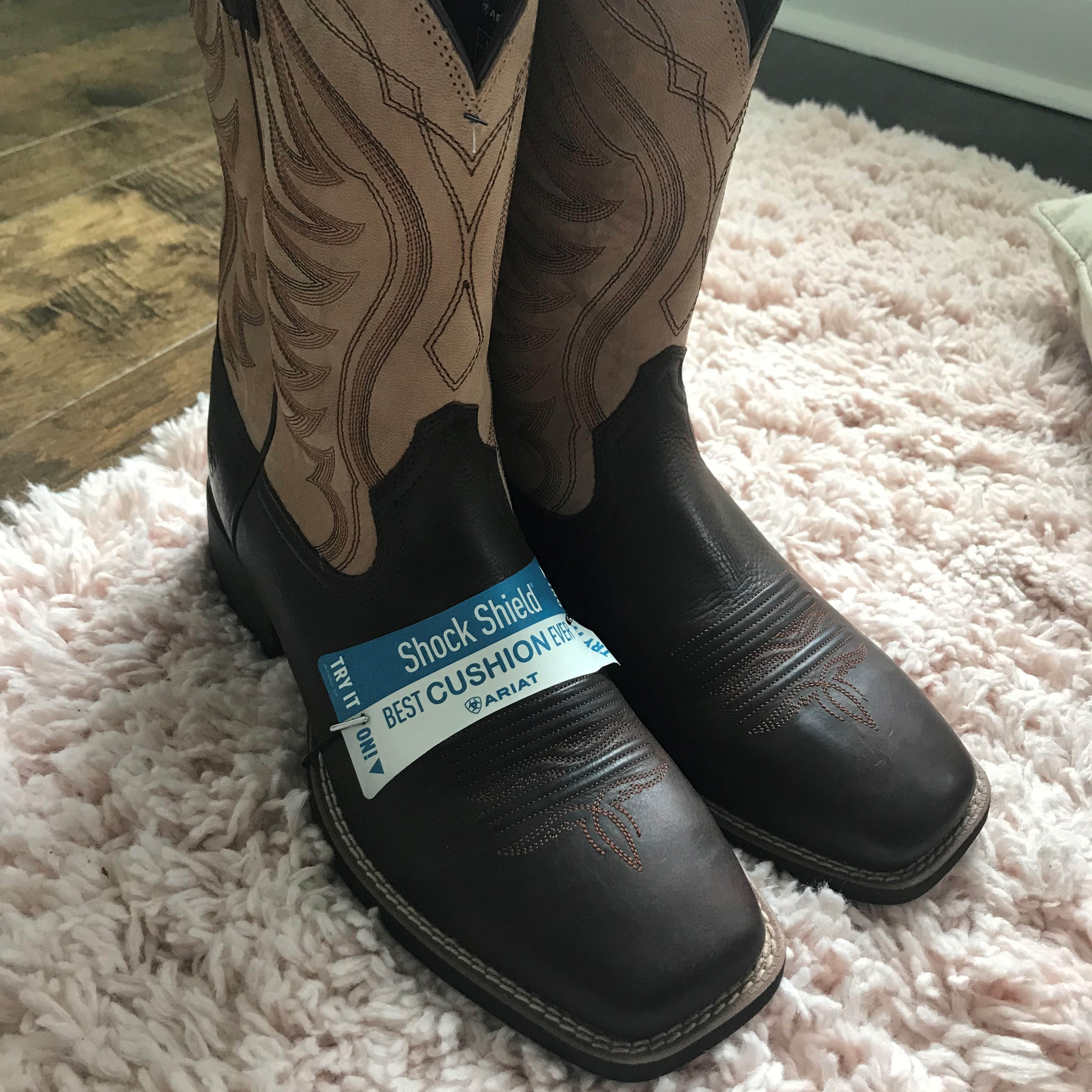 picture of my new amos cowboy boots,