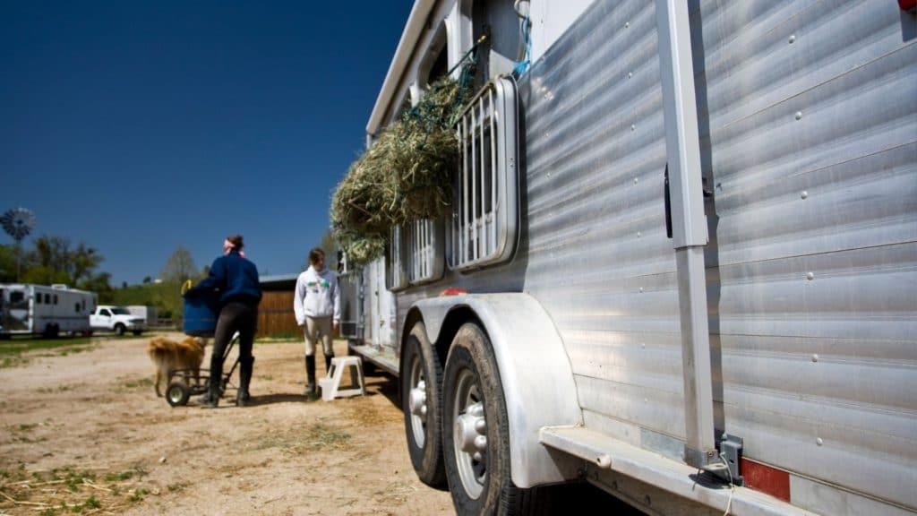 gooseneck horse trailer,