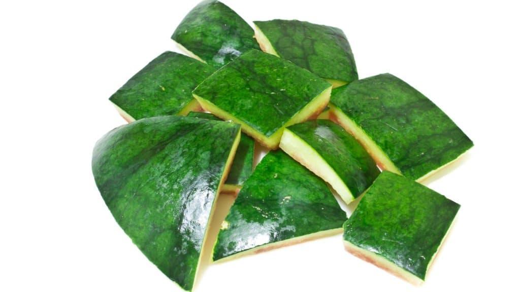 watermelon rind,