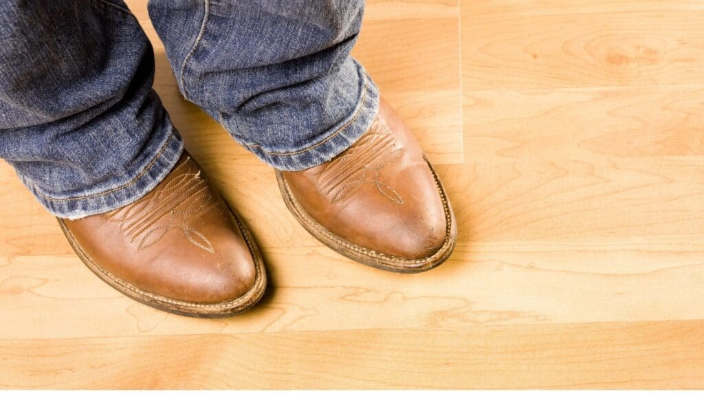 picture of a person wearing cowboy boots